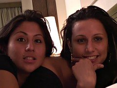 PUTA LOCURA A couple of Spanish sisters fucked by Torbe