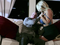 Guy enjoys threeway with wife and her hot girlfriend