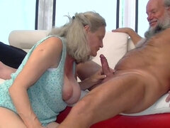 Hungarian Granny Aliz Sucking And Fucks