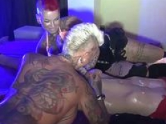 German true hardcore prostitute fuck 3some in brothel