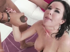 Veronica Avluv takes a rough humping with DAP and fisting