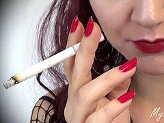 THE SMOKING SEDUCTRESS #1 - MyHotStepSister