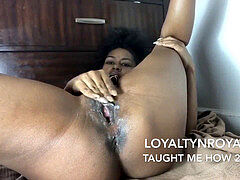 King 10 Inch Dick Cums 3 Times! Which biotch gulps it?