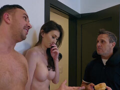 Angelina Diamanti cheats on her husband with a hung stud