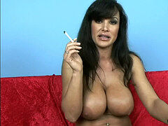 Lisa Ann Smoking Fetish