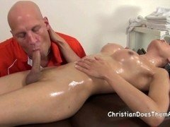 Christians Tranny Massage - Scene 5