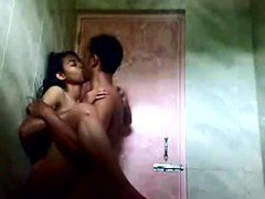 Bangla female penetrated in toilet