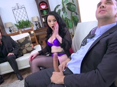 Housewife Veruca James gets ass fucked & facefucked by a stranger