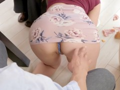 Lena Paul gets Xander's finger in her ass