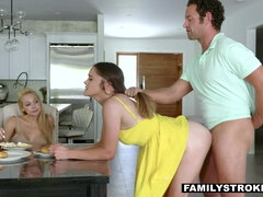Mommy sees while shae blaze blows & drills step-father
