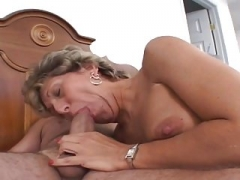 Granny's Bulging Asshole Lick and Fuck