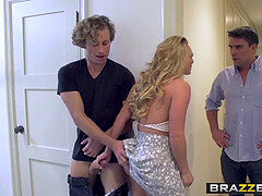 Brazzers Exxtra - (AJ Applegate, Toni Ribas) - double screw rendezvous