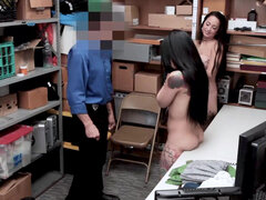 LP officer humiliate Gina Valentina and Mi Ha Doan for the rest of their lives