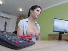 LOAN4K. Huge titties and additionally ass of Alex makes tricky agent very...