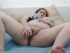 Adult bbw self self-satisfaction at home - Amateur - Vends-ta-culotte