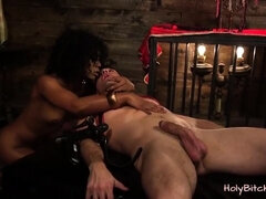 Female domination With Sexy Misty Stone
