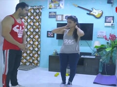 One Perfect Workout - Indian Couple Sex