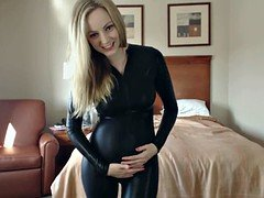 Sexy pregnant Catsuit