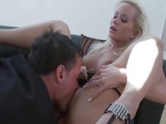 Screaming Rectal With German Blonde MILF