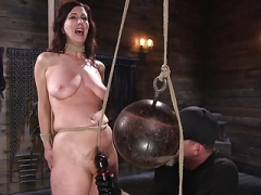 Pain Hoe Cherry Torn Submits to Corporal Punishment and Rop