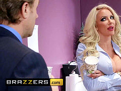 gigantic udders at Work - Nicolette Shea Tyler Nixon - Water Cooler
