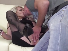 Grown-up kinky mother gets rectal sex from son