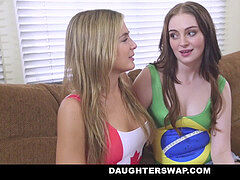 DaughterSwap - daughters-in-law Lose Bet and poke Dads