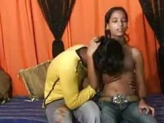 youthful Indian Couple Fuck At Home