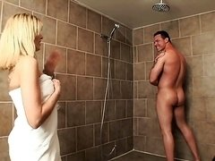 Milf rectal in shower