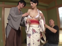 Delightful Miria Hazuki gets her ass drilled very hard
