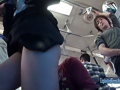 Jav office woman machida orgy uncensored on public bus in traffic drivers can see in