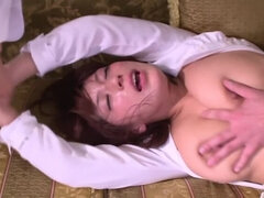 Exotic Japanese model Nami Hoshino in Hottest threesomes, bdsm JAV scene
