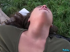 Sexy Student Creampied Outdoors