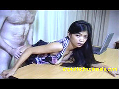 Filipino inexperienced Helen Bent Over Desk Fucked Hard And Spanked perfect milk cans