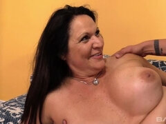 Laylani Wood rubs her own clit as he hammers her pussy with his hard cock