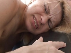 Mind-blowing french sexually available mom hard sodomized n pink slit gaped in 3way