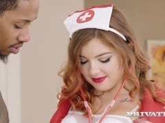 Nurse Renata Fox Craves Interracial Fuck