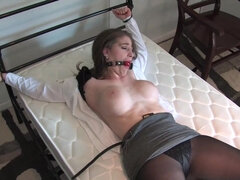 HARD TIME - Brunette BDSM