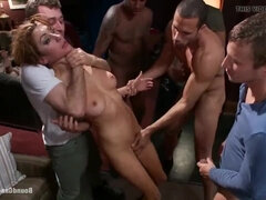 Princess Donna Dolore - Brutally Bound-Gang-Bangs