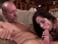 Husband Watches Wife Kara Peters Make love