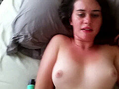 timid girlfriend jerking and getting smashed by boyfriend
