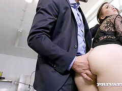 Private.com - Misha Cross deepthroats & ass fucking Bangs A Cock!
