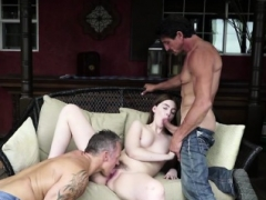 Maya Kendrick banged by a couple of huge cocks