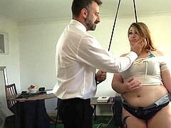 ultra-kinky bbw Estella Bathory predominated with big cock