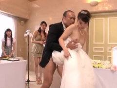Group sex on the japanese wedding