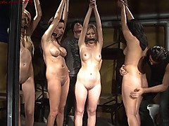 Slave auction II. First slave sold