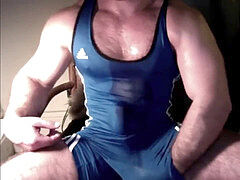 RUSSIAN furry BEEF MUSCLE stud WRESTLER wank !a - CUM JACK MASH-UP