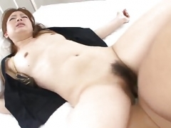 Wife Yukina Momose fabulous sex in bed with a stranger