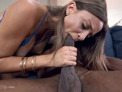 Havana Bleu is new to the industry and loves to twerk on big black cock