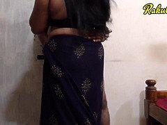 Indian big boobie neighbours wifey porno in saree